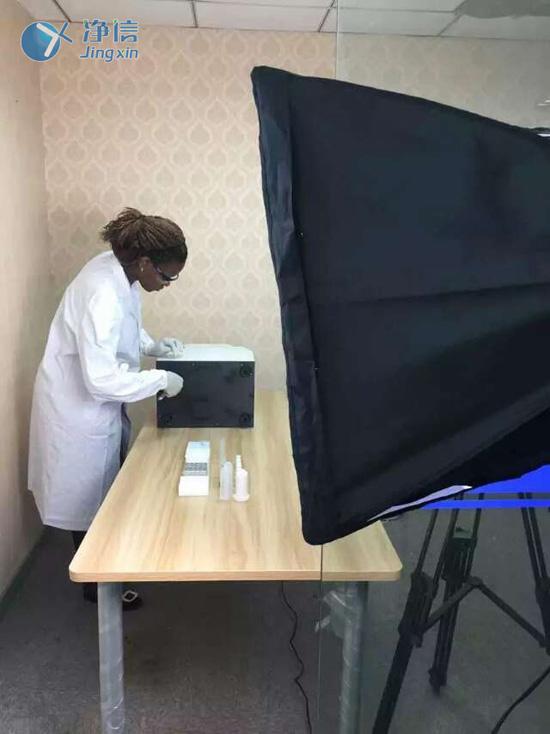上海净信拍摄多样品组织研磨机的规范操作视频