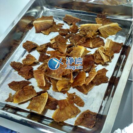 菠萝果实采用全自动快速研磨仪研磨提取脂肪酸的一种方法-上海净信